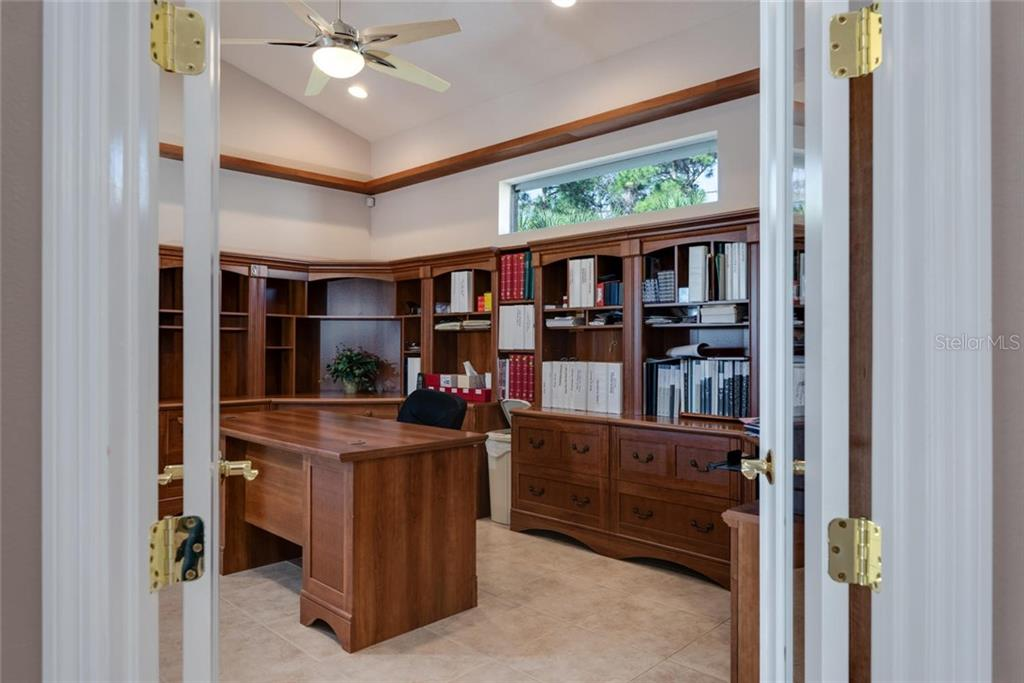Office. Furniture is not built-in, the top train/car shelf is - Single Family Home for sale at 821 Adonis Pl, Venice, FL 34292 - MLS Number is N6104303