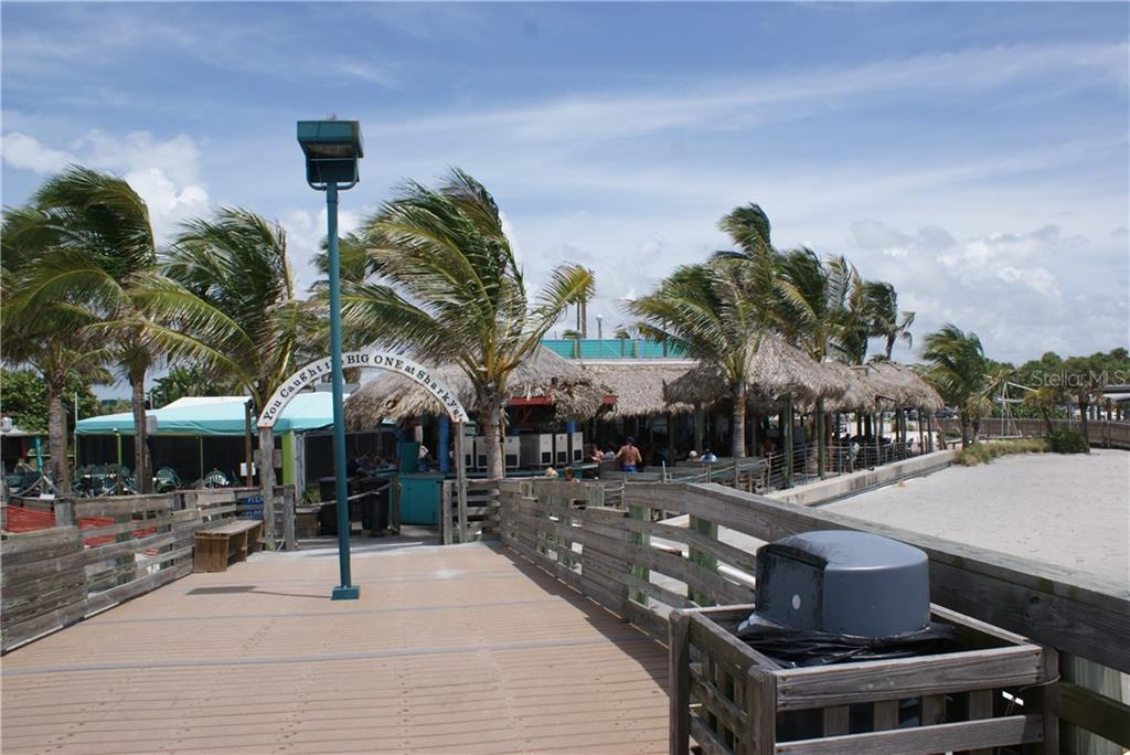 Sharkys restaurant right on the beach! - Condo for sale at 904 Casa Del Lago Way #904, Venice, FL 34292 - MLS Number is N6105434