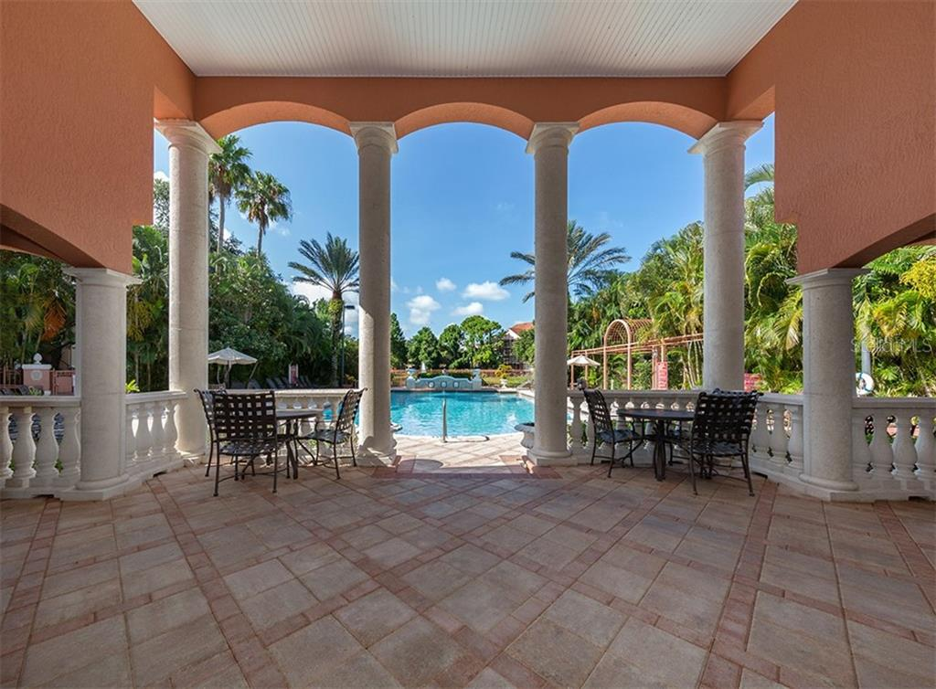 Clubhouse to pool - Condo for sale at 4110 Central Sarasota Pkwy #123, Sarasota, FL 34238 - MLS Number is N6106210