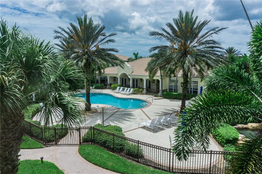 Heated Pool - Condo for sale at 1910 Triano Cir #1910, Venice, FL 34292 - MLS Number is N6106332