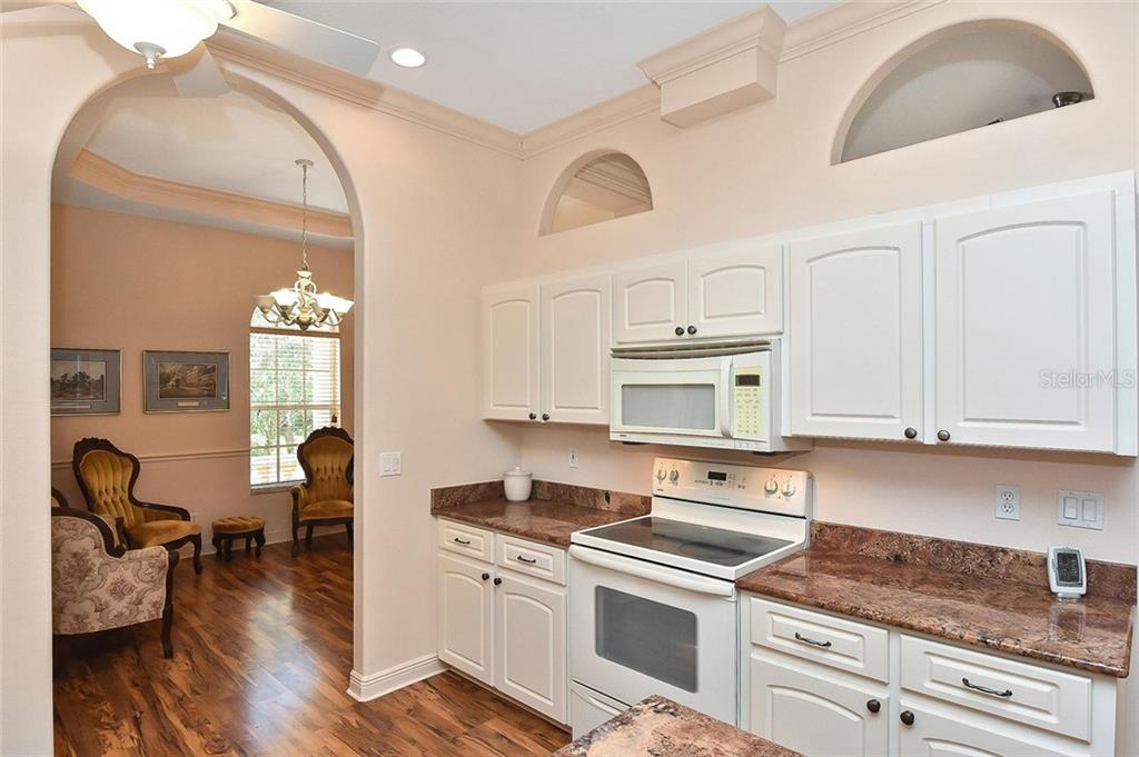 Kitchen - Single Family Home for sale at 1709 Hudson St, Englewood, FL 34223 - MLS Number is N6106345