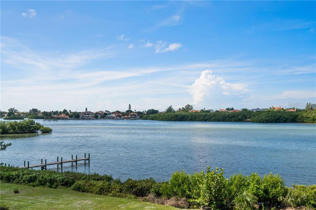View of the Intracoastal Waterway - Single Family Home for sale at 4919 Topsail Dr, Nokomis, FL 34275 - MLS Number is N6107792