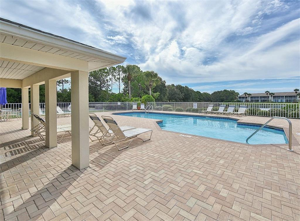 Community pool - Condo for sale at 891 Norwalk Dr #205, Venice, FL 34292 - MLS Number is N6108169