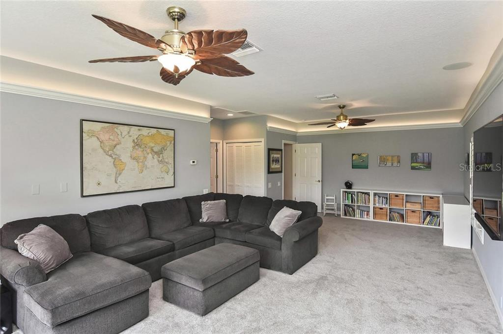 Bonus room - so many options, could be a music, art, or toy room - Single Family Home for sale at 7185 N Serenoa Dr, Sarasota, FL 34241 - MLS Number is N6109058