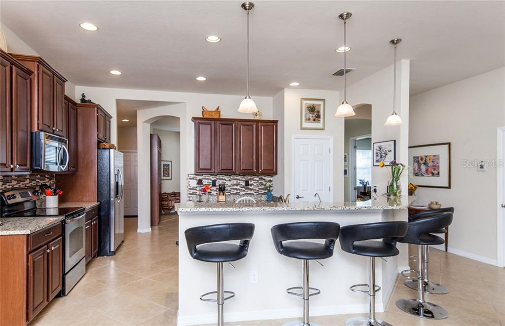 Large kitchen !! - Single Family Home for sale at 5392 Layton Dr, Venice, FL 34293 - MLS Number is N6109506