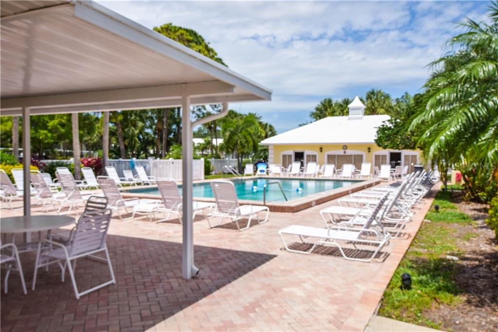 Community Pool - Condo for sale at 404 Cerromar Cir N #110, Venice, FL 34293 - MLS Number is N6109897