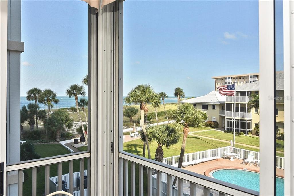 View from lanai - Condo for sale at 1150 Tarpon Center Dr #303, Venice, FL 34285 - MLS Number is N6110126