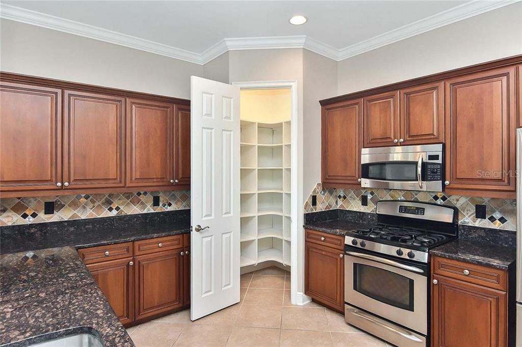 Kitchen pantry - Single Family Home for sale at 193 Medici Ter, North Venice, FL 34275 - MLS Number is N6110365