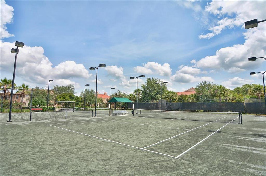 Tennis courts - Single Family Home for sale at 193 Medici Ter, North Venice, FL 34275 - MLS Number is N6110365