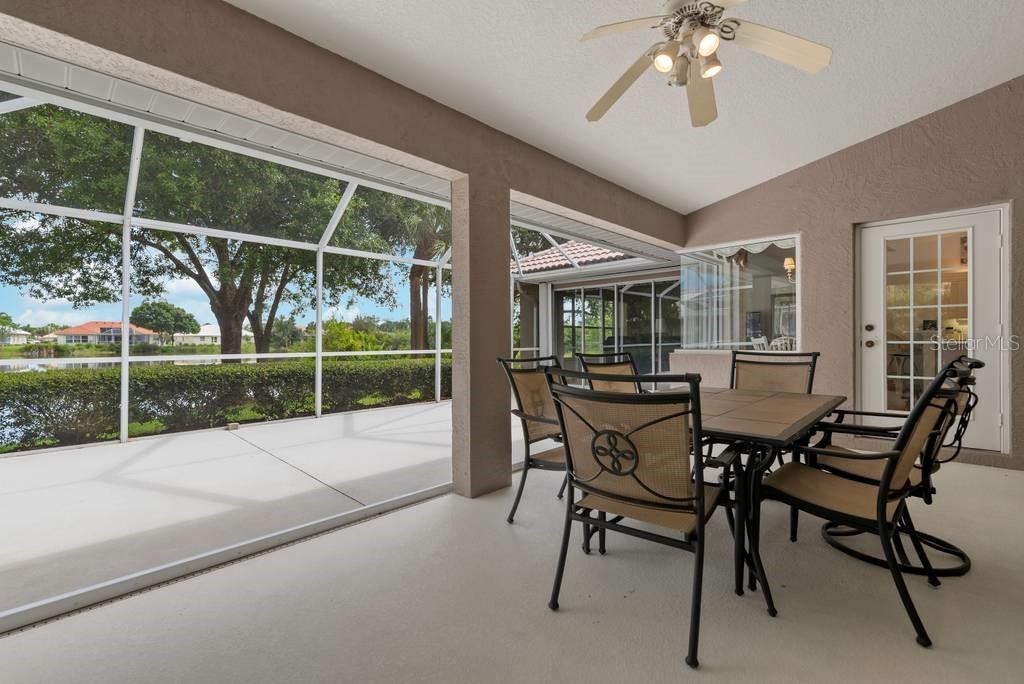 Lanai - Single Family Home for sale at 498 Pine Lily Way, Venice, FL 34293 - MLS Number is N6110849
