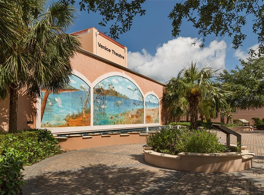 Venice Theatre - Vacant Land for sale at 305 Ponce De Leon Ave, Venice, FL 34285 - MLS Number is N6111554