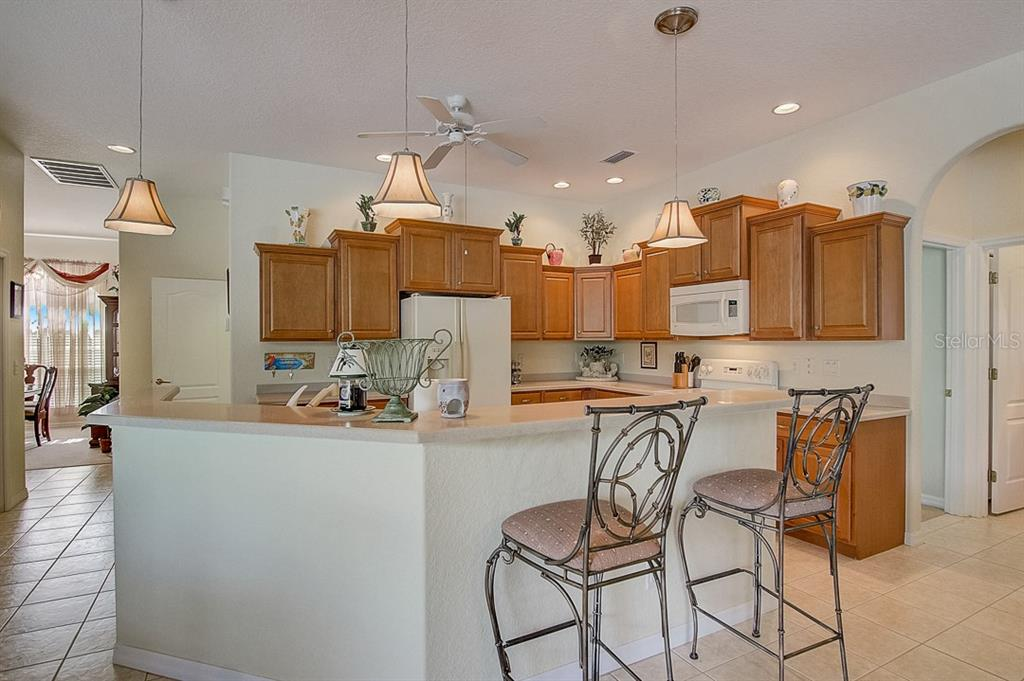 Kitchen - Single Family Home for sale at 1031 Scherer Way, Osprey, FL 34229 - MLS Number is N6111839