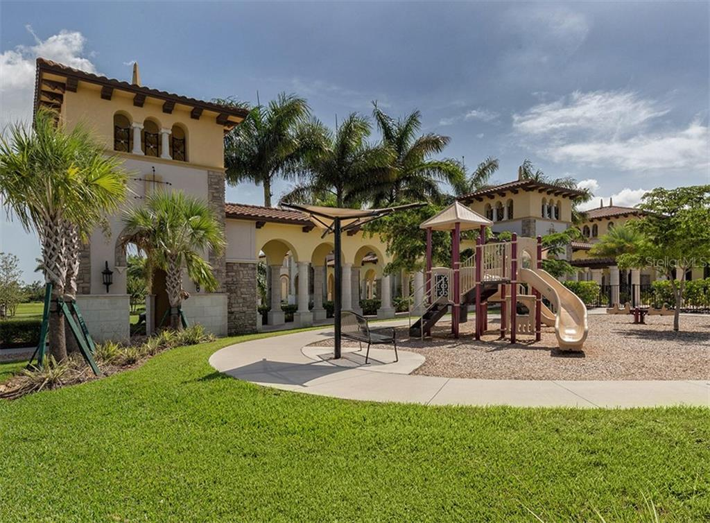 Community Playground - Condo for sale at 20120 Ragazza Cir #201, Venice, FL 34293 - MLS Number is N6112061