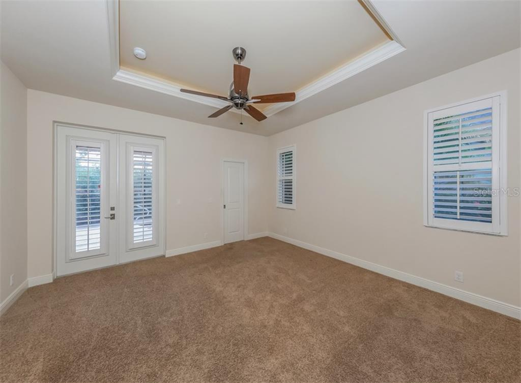 Master bedroom - Single Family Home for sale at 416 Pensacola Rd, Venice, FL 34285 - MLS Number is N6112676