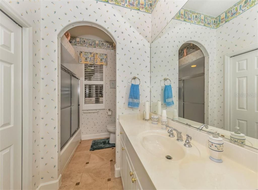 Guest bathroom - Single Family Home for sale at 453 Anchorage Dr, Nokomis, FL 34275 - MLS Number is N6112707