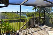Lanai/view - Single Family Home for sale at 1649 Manor Rd, Englewood, FL 34223 - MLS Number is N5914466