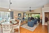 Great room/dining area - Villa for sale at 719 Brightside Crescent Dr #36, Venice, FL 34293 - MLS Number is N6102753