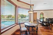 Breakfast Nook, Dining Area - Single Family Home for sale at 510 Bowsprit Ln, Longboat Key, FL 34228 - MLS Number is N6110334