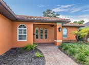 Walkway to front entry - Single Family Home for sale at 416 Pensacola Rd, Venice, FL 34285 - MLS Number is N6112676