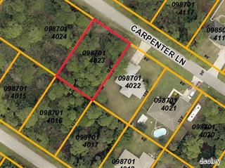 Carpenter Ln, North Port, FL 34286