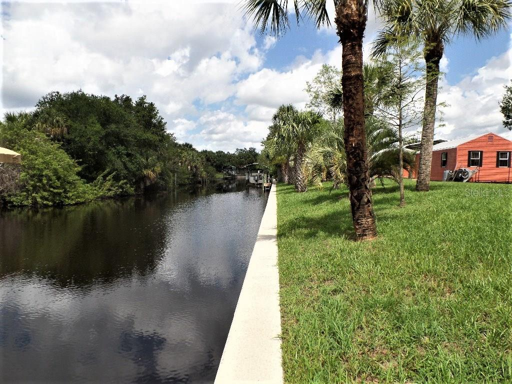 160 FEET OF CONCRETE SEA WALL - Single Family Home for sale at 28435 Sabal Palm Dr, Punta Gorda, FL 33982 - MLS Number is C7240870