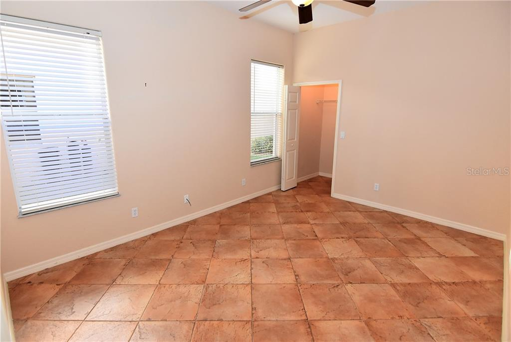 Over sized guest room 14 X 11 with walk-in closet - Condo for sale at 3959 San Rocco Dr #212, Punta Gorda, FL 33950 - MLS Number is C7409637