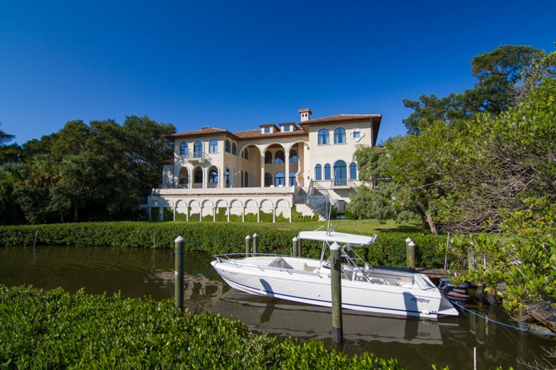 Single Family Home for sale at 1160 N Casey Key Rd, Osprey, FL 34229 - MLS Number is A4141858