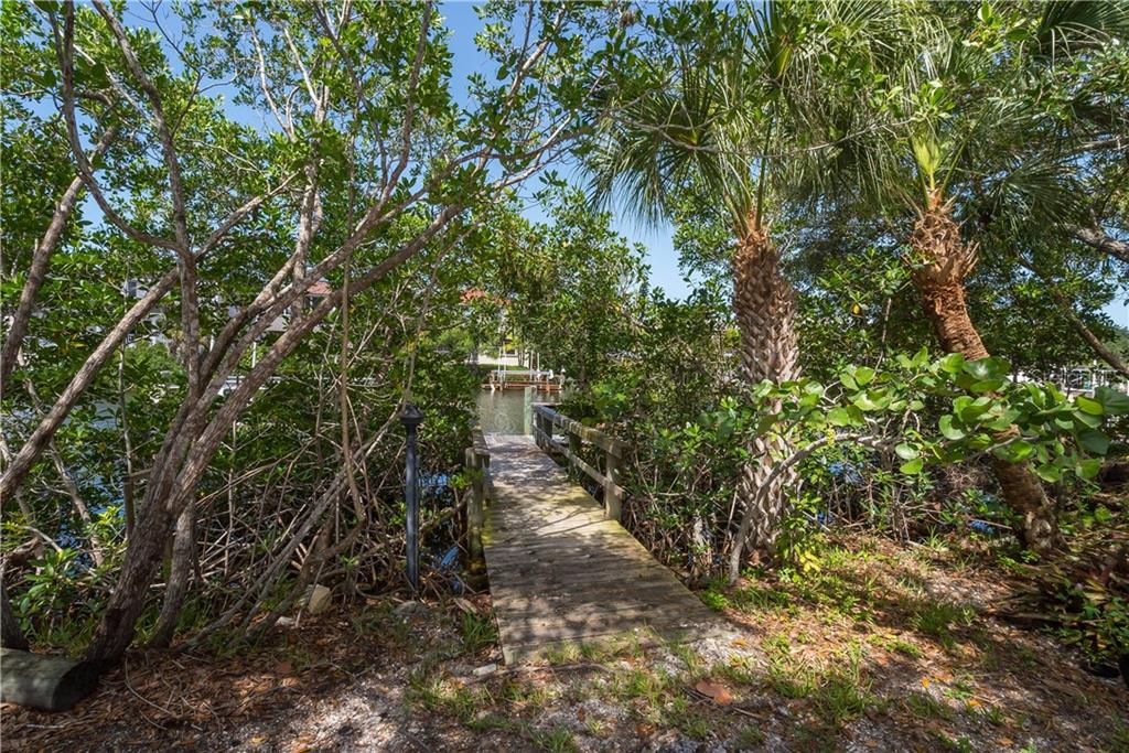 Private dock and 10,000lb boat lift. - Single Family Home for sale at 5115 Dewey Pl, Sarasota, FL 34242 - MLS Number is A4177178