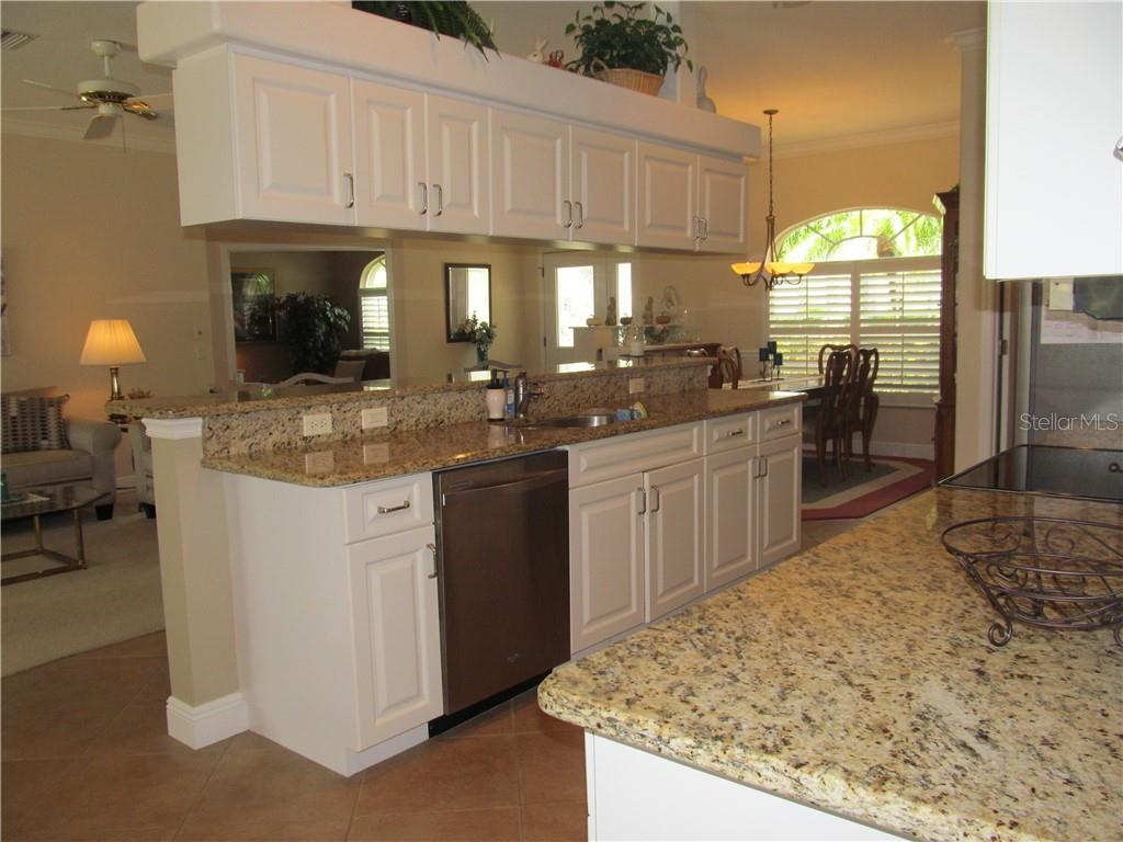 Updated Kitchen With Stainless Steel L Granite Countertops And Update Cabinets Single Family