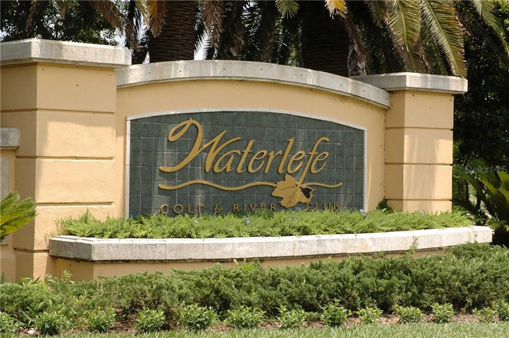 Entrance to Waterlefe - Condo for sale at 9453 Discovery Ter #201c, Bradenton, FL 34212 - MLS Number is A4423314