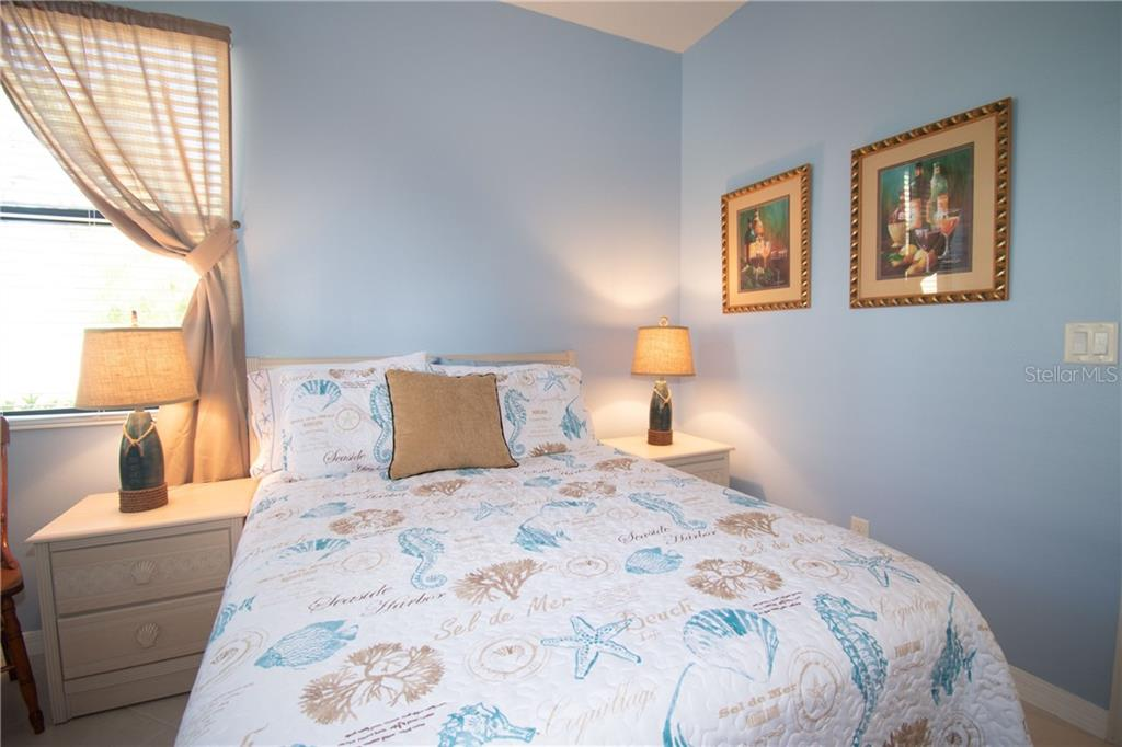 second bedroom - Villa for sale at 1808 Batello Dr, Venice, FL 34292 - MLS Number is A4426491