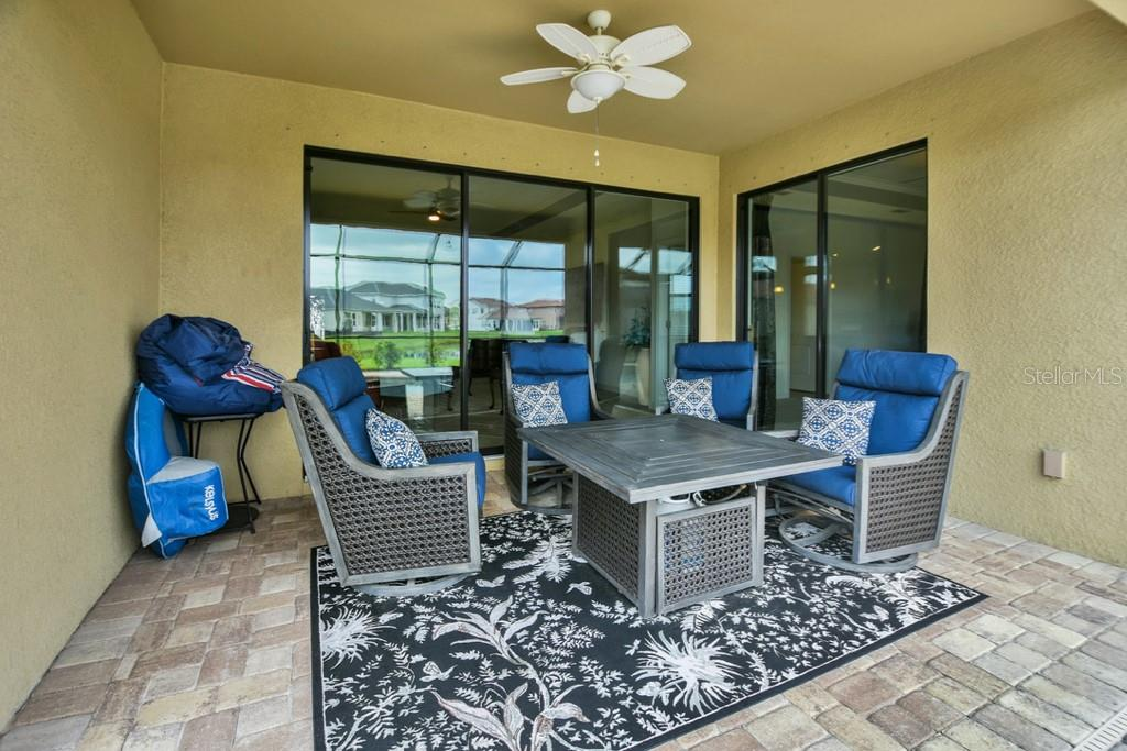 Covered Lanai - Single Family Home for sale at 2937 Desert Plain Cv, Lakewood Ranch, FL 34211 - MLS Number is A4431016