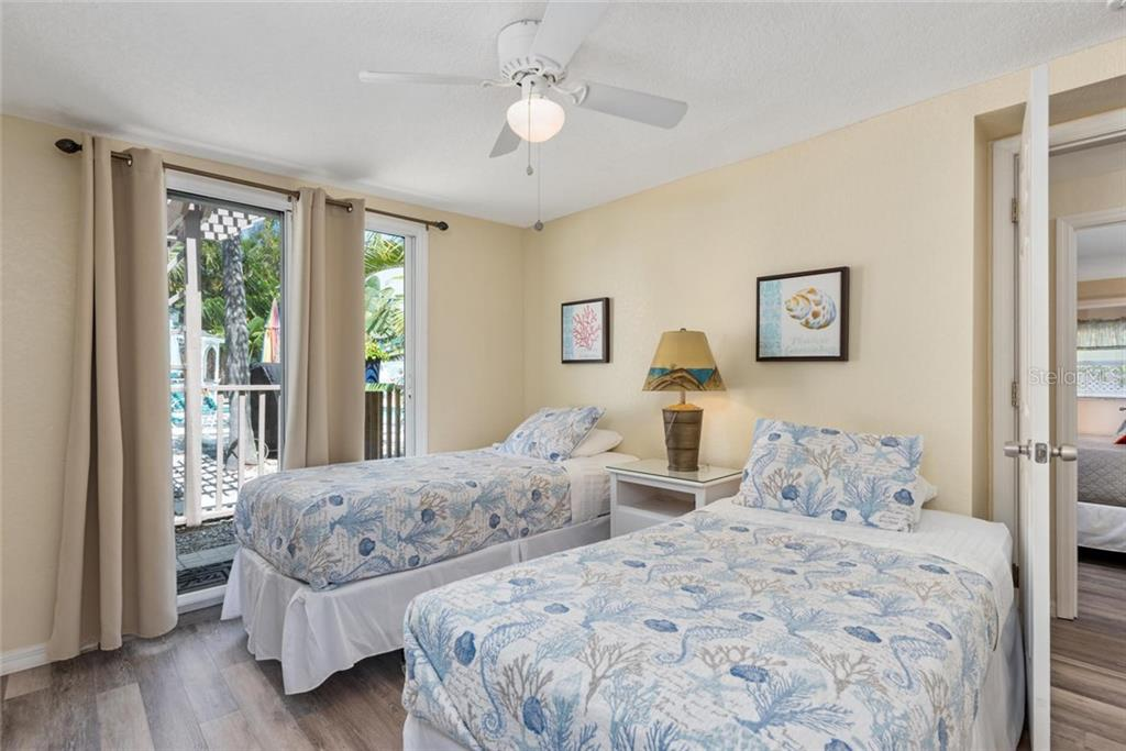 Elephant Bedroom. - Single Family Home for sale at 523 Beach Rd, Sarasota, FL 34242 - MLS Number is A4446354