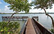 Community fishing pier - Condo for sale at 1260 Dolphin Bay Way #401, Sarasota, FL 34242 - MLS Number is A4173008
