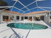 Pool to lanai and interior - Single Family Home for sale at 2201 Sonoma Dr E, Nokomis, FL 34275 - MLS Number is N6103410